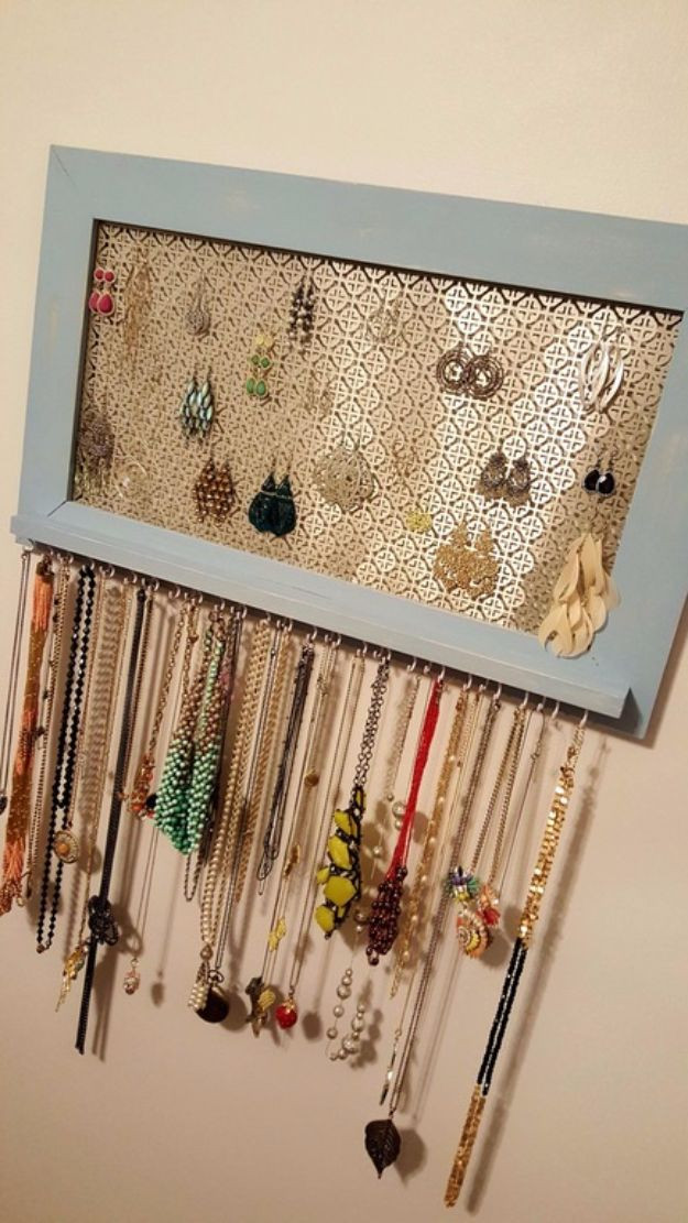 Best ideas about DIY Earring Storage . Save or Pin 32 Creative DIY Jewelry Boxes and Storage Ideas Now.