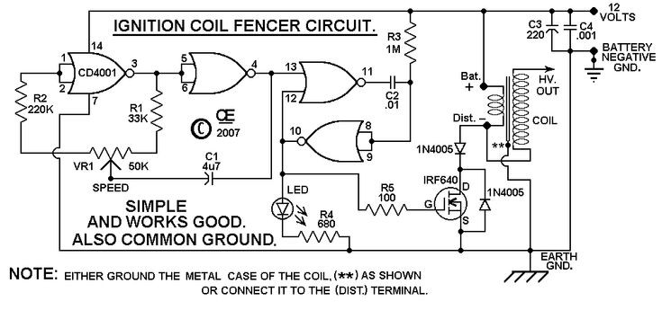 Best ideas about DIY Electric Fences . Save or Pin DIY Electric fence circuit Technology Pinterest Now.
