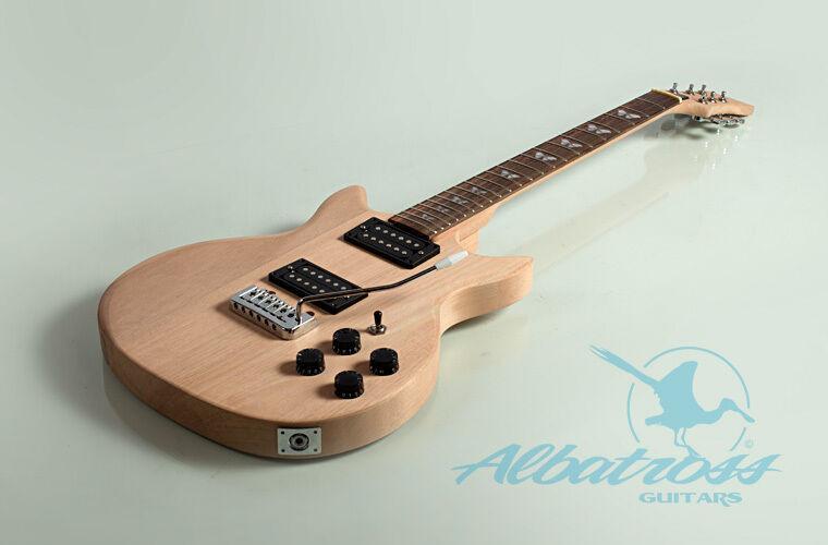 Best ideas about DIY Electric Guitar Kit . Save or Pin DIY Mahogany Bolt Electric Guitar Kit Project Albatross Now.