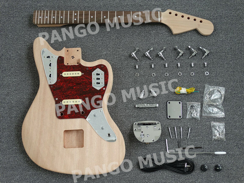 Best ideas about DIY Electric Guitar Kit . Save or Pin Pango Music Jaguar Style DIY Electric Guitar Kit DIY Now.