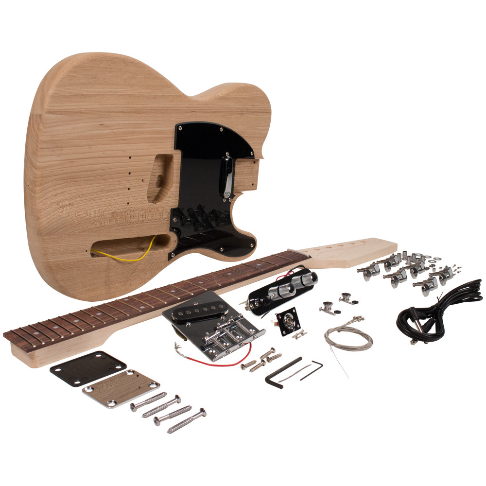 Best ideas about DIY Electric Guitar Kit . Save or Pin DIY Classic Tele Style Electric Guitar Kit Unfinished Now.
