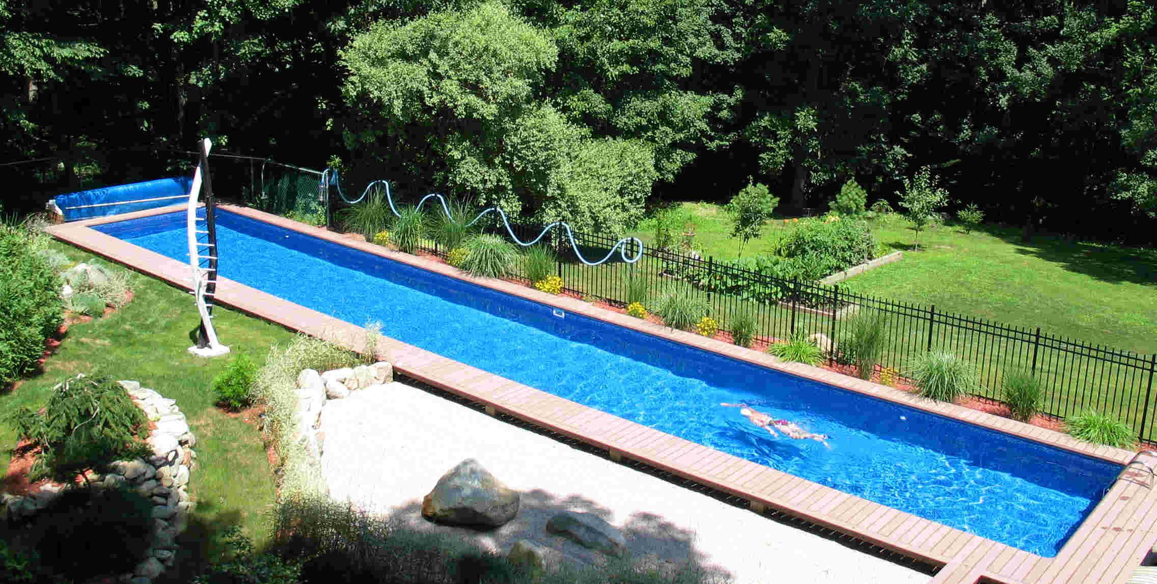 Best ideas about DIY Endless Pool . Save or Pin DIY Inground Swimming Pools Now.