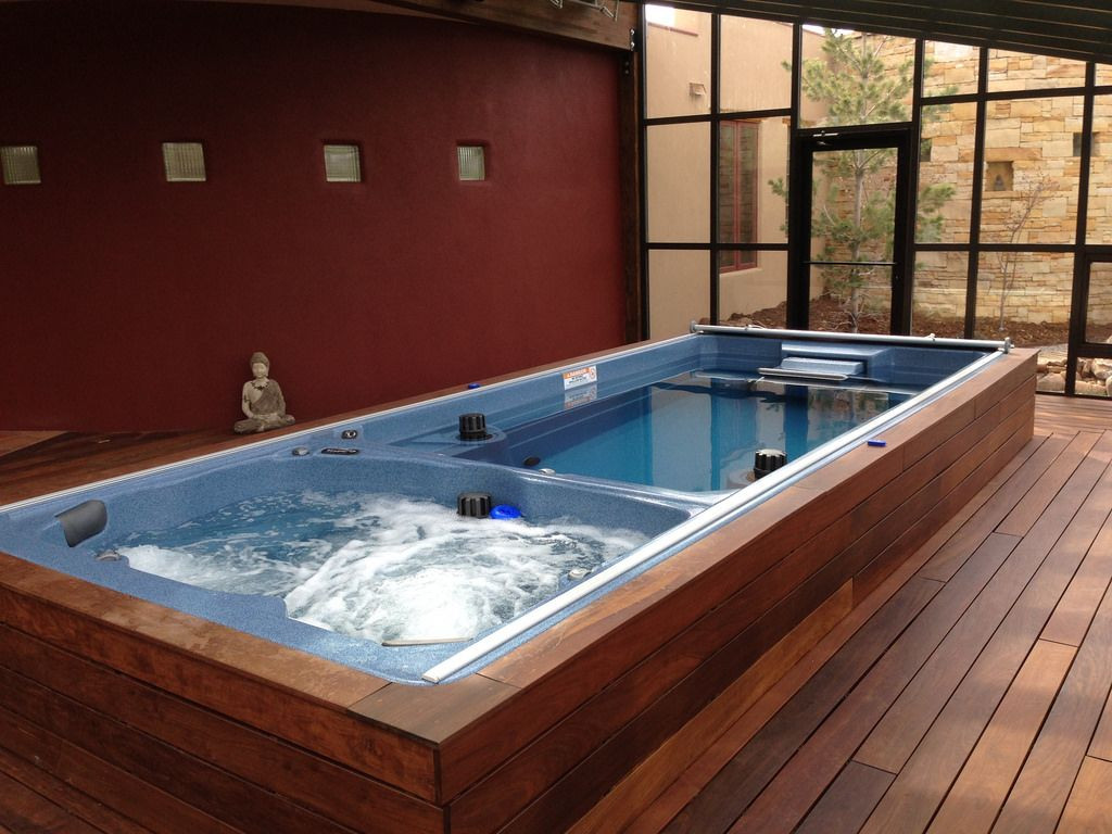 Best ideas about DIY Endless Pool . Save or Pin 50 Indoor Swimming Pool Ideas For Your Home [Amazing Now.