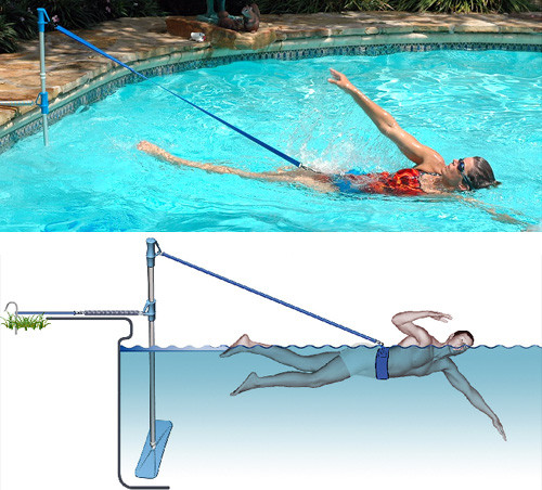 Best ideas about DIY Endless Pool . Save or Pin Home Swimmer Makes Tethered Swimming A Reality Now.