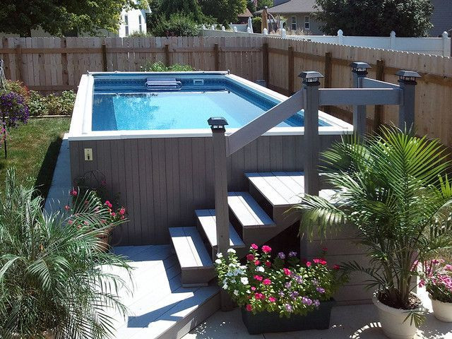 Best ideas about DIY Endless Pool . Save or Pin 94 best images about Ground Pool Landscaping on Now.