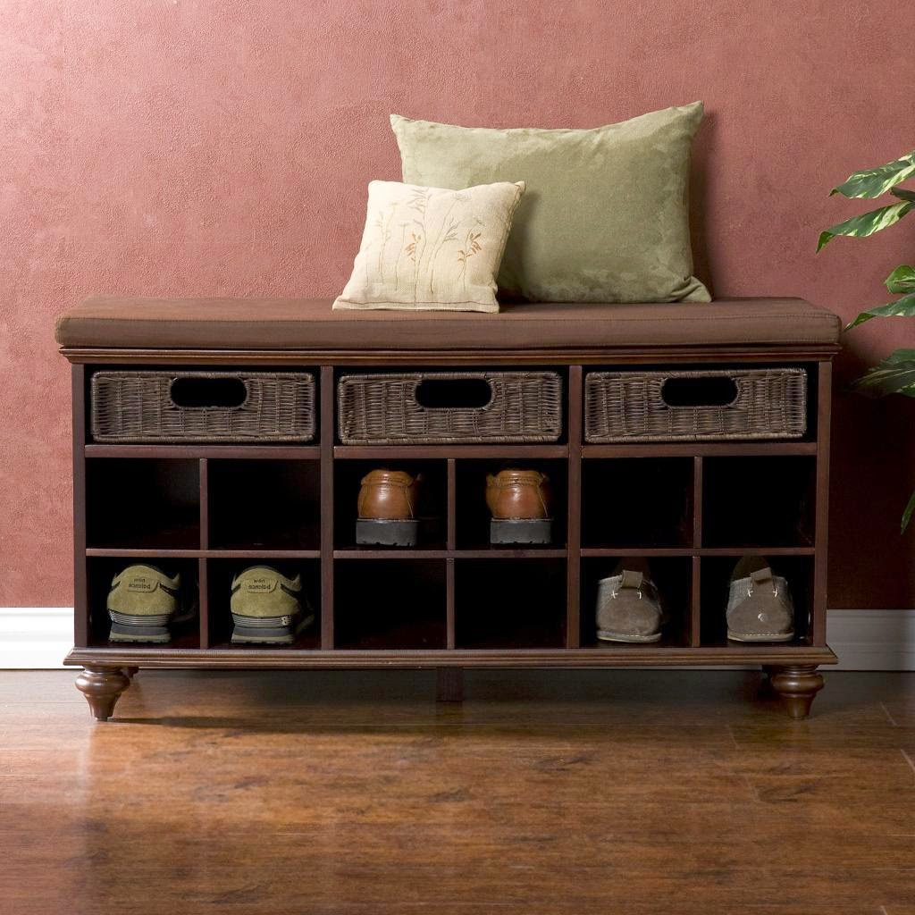 Best ideas about DIY Entryway Bench With Shoe Storage . Save or Pin DIY Pallet Shoe Storage Bench $32 13 – Between3Sisters Now.