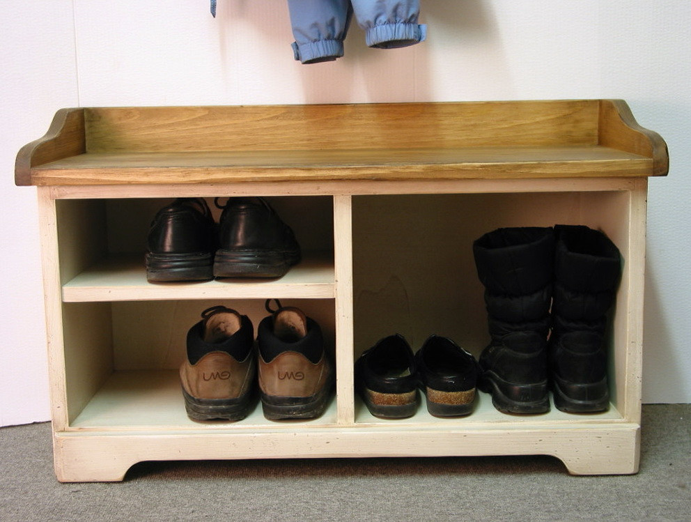 Best ideas about DIY Entryway Bench With Shoe Storage . Save or Pin Entryway Bench With Shoe Storage Now.