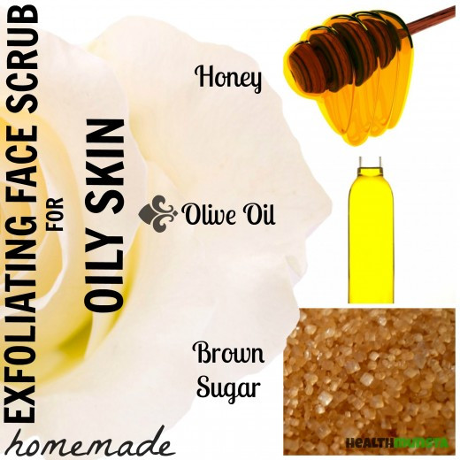 Best ideas about DIY Exfoliating Mask . Save or Pin DIY Homemade Face Scrub Recipes for Oily Skin Now.
