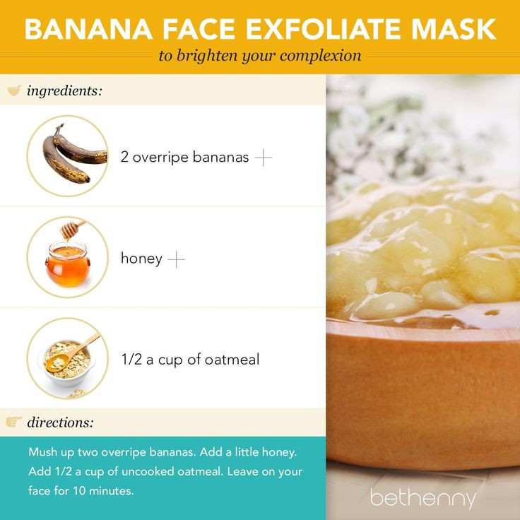 Best ideas about DIY Exfoliating Mask . Save or Pin At home banana face exfoliate mask beauty diy Now.