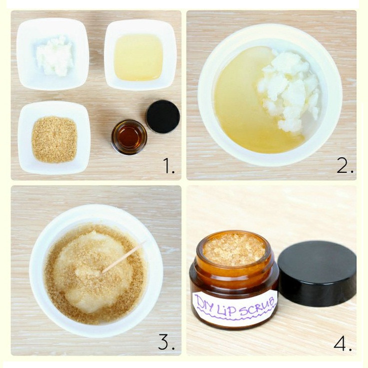 Best ideas about DIY Exfoliating Mask . Save or Pin DIY How to make Homemade Lip Exfoliating Scrub Going Now.