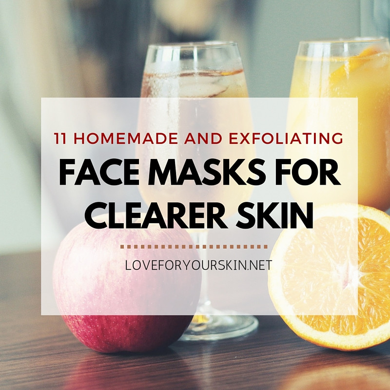 Best ideas about DIY Exfoliating Mask . Save or Pin 11 Homemade Exfoliating Face Masks for Clearer Skin Now.