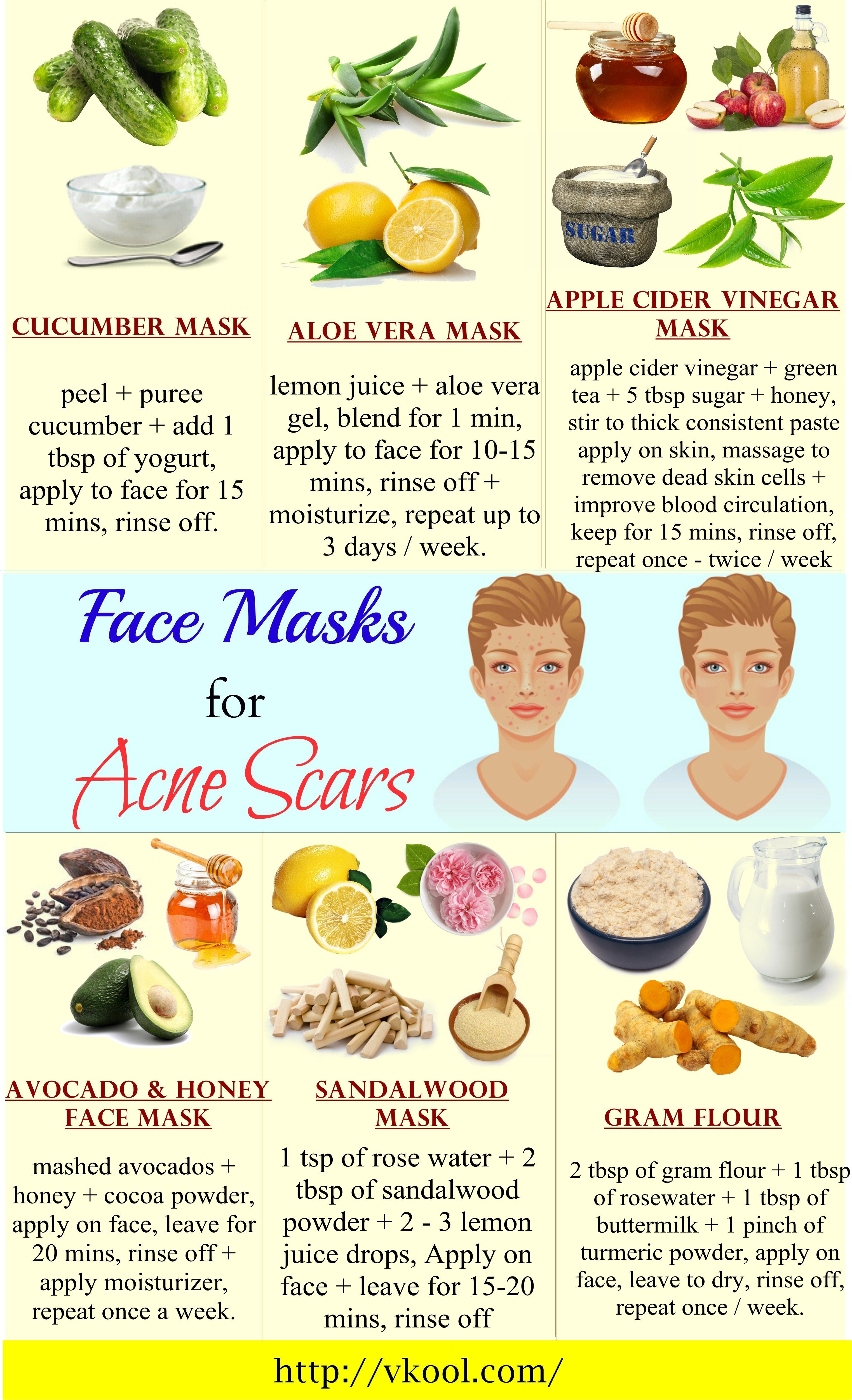 Best ideas about DIY Face Mask For Acne Scars . Save or Pin 16 Natural homemade face masks for acne scars Now.
