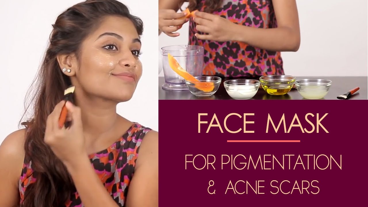 Best ideas about DIY Face Mask For Acne Scars . Save or Pin Face Mask For Pigmentation & Acne Scars Now.