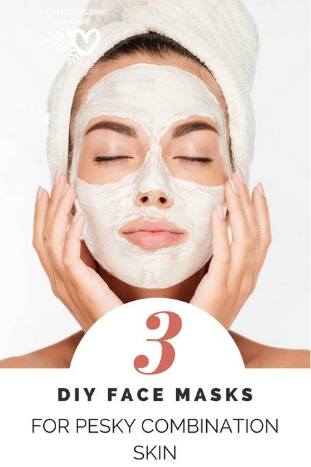 Best ideas about DIY Face Mask For Combination Skin . Save or Pin 3 DIY Face Masks for Pesky bination Skin Now.