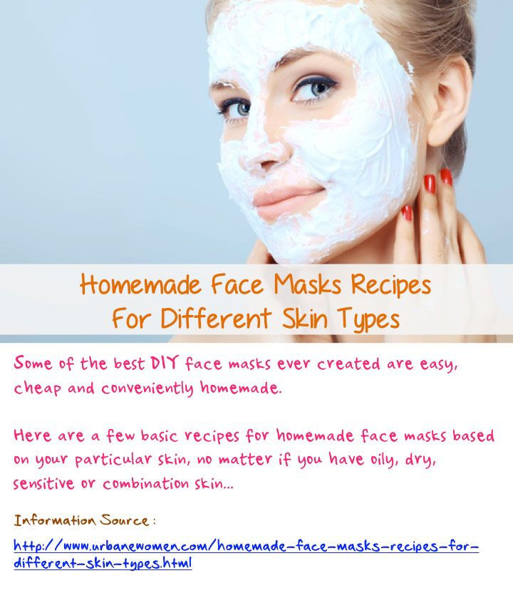 Best ideas about DIY Face Mask For Combination Skin . Save or Pin Homemade Face Masks Recipes For Different Skin Types Now.