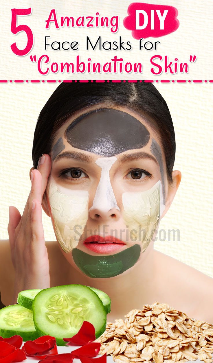 Best ideas about DIY Face Mask For Combination Skin . Save or Pin bination Skin Care Best Homemade Face Masks for Now.