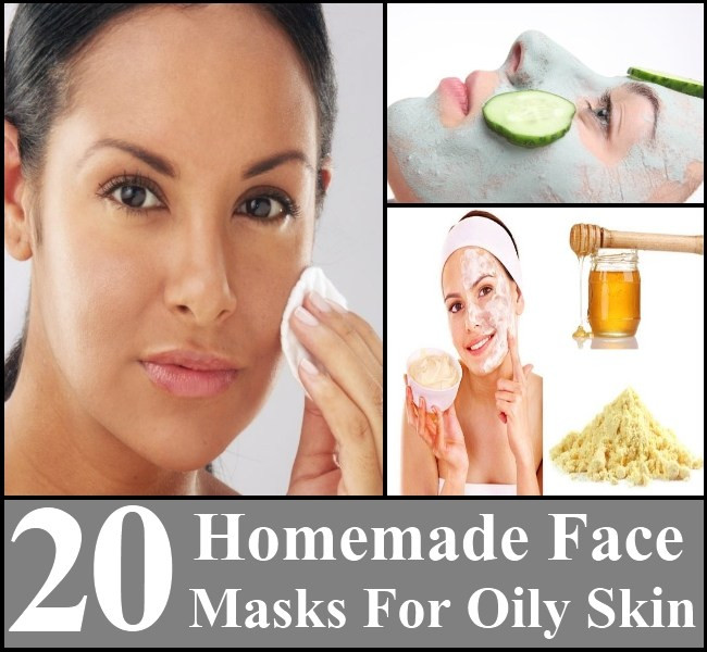 Best ideas about DIY Face Mask For Oily Skin . Save or Pin 20 Homemade Face Masks For Oily Skin Now.