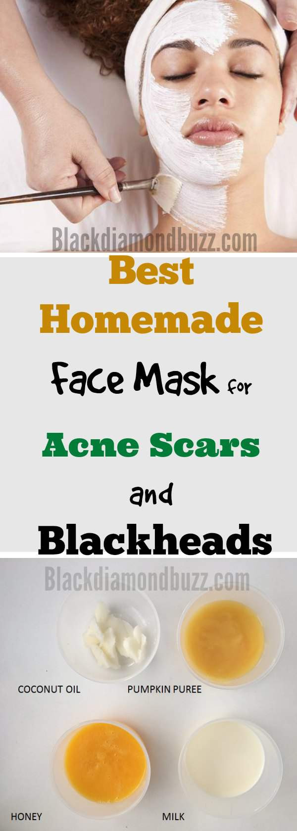 Best ideas about DIY Face Mask For Pimples . Save or Pin Diy Honey Mask For Acne Scars Do It Your Self Now.