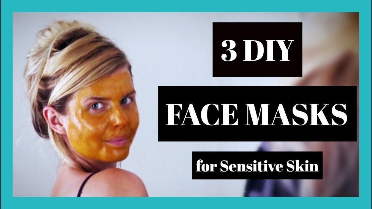 Best ideas about DIY Face Mask For Sensitive Skin . Save or Pin 3 DIY Face Masks for Sensitive Skin Now.