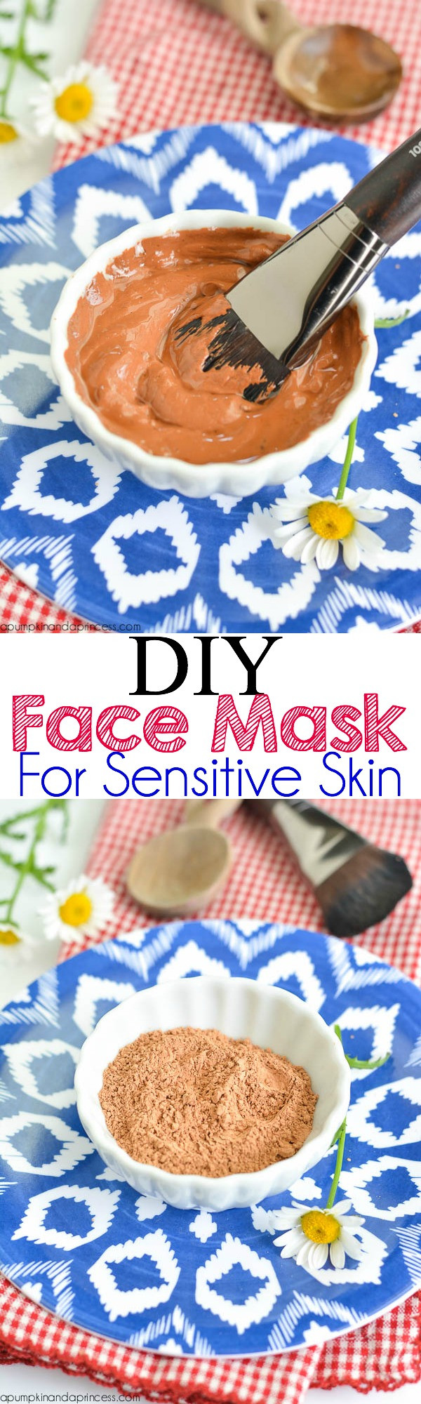 Best ideas about DIY Face Mask For Sensitive Skin . Save or Pin DIY Face Mask For Sensitive Skin A Pumpkin And A Princess Now.