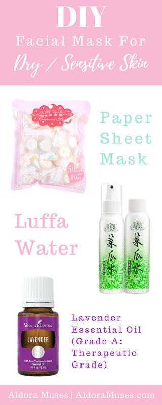 Best ideas about DIY Face Mask For Sensitive Skin . Save or Pin 3 DIY Facial Masks For Dry Sensitive Skin Aldora Muses Now.
