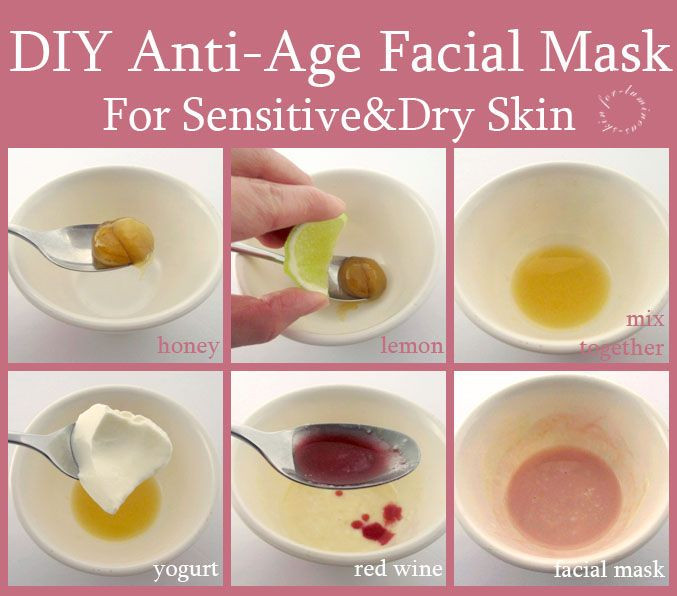 Best ideas about DIY Face Mask For Sensitive Skin . Save or Pin DIY Anti Aging Red Wine Facial Mask Helen Helz Nguyen 1 Now.