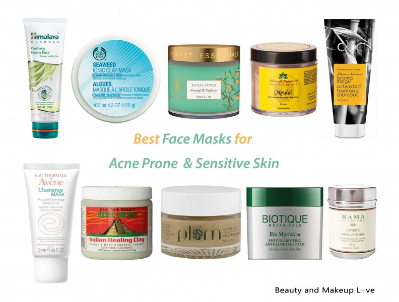 Best ideas about DIY Face Mask For Sensitive Skin . Save or Pin Best Face Masks for Acne Prone & Senstive Skin Now.