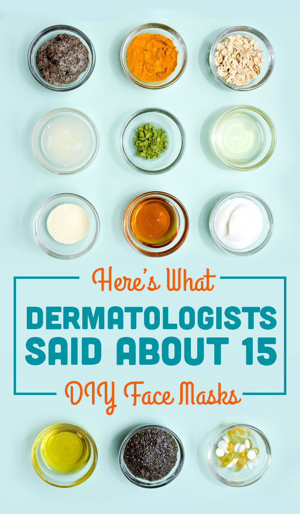 Best ideas about DIY Face Mask . Save or Pin Here's What Dermatologists Said About Those DIY Pinterest Now.