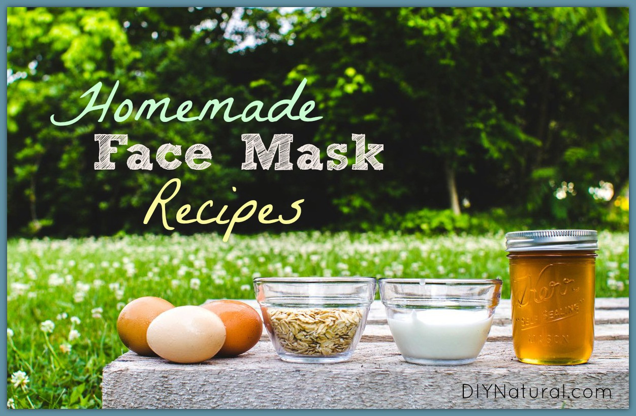 Best ideas about DIY Face Mask . Save or Pin Homemade Face Mask Bases Add ins and Several Recipes Now.