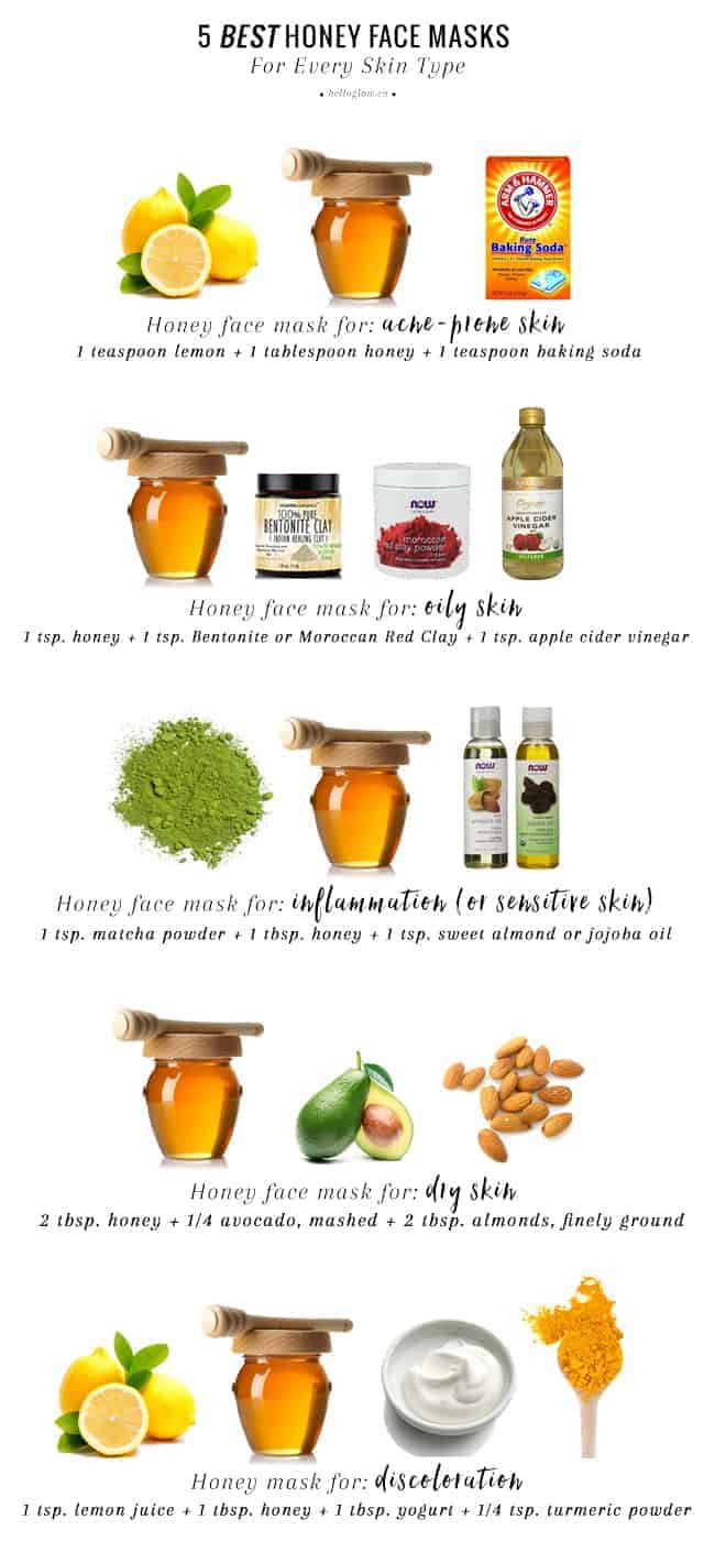 Best ideas about DIY Face Mask With Honey . Save or Pin 5 Best Honey Face Masks For Every Skin Type Now.