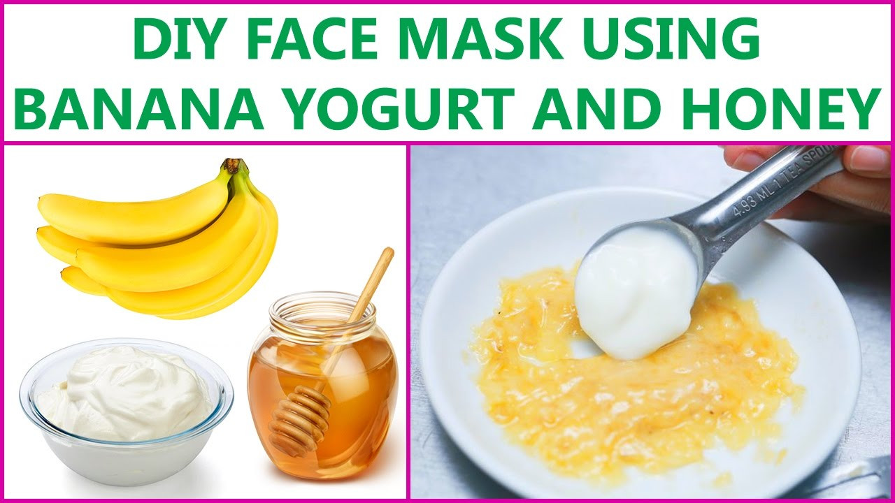 Best ideas about DIY Face Mask With Honey . Save or Pin DIY Face Mask Using Banana Yogurt And Honey Now.
