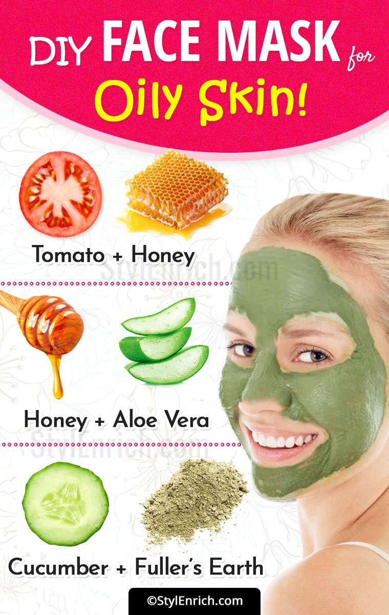 Best ideas about DIY Face Masks For Oily Skin . Save or Pin DIY Face Mask For Oily Skin Try Hands These Effective Now.