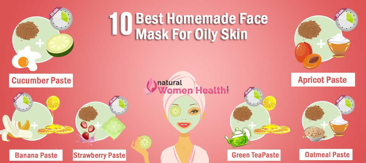 Best ideas about DIY Face Masks For Oily Skin . Save or Pin 10 Best DIY Homemade Face Masks for Oily Skin Now.