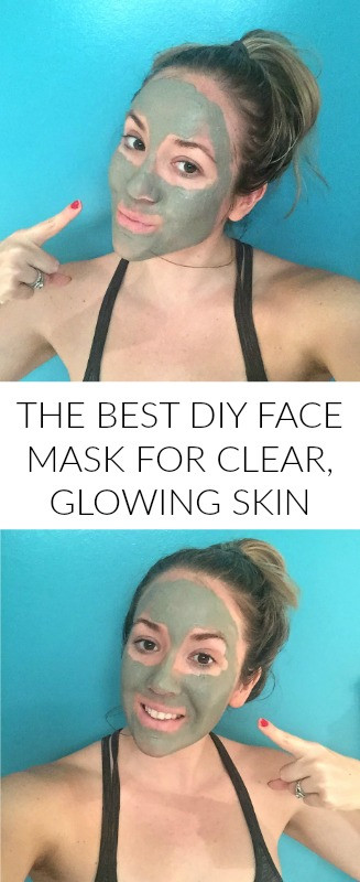 Best ideas about DIY Facial Mask For Glowing Skin . Save or Pin The Most Detoxifying DIY Face Mask For Clear Glowing Skin Now.