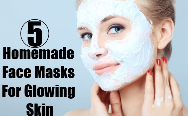 Best ideas about DIY Facial Mask For Glowing Skin . Save or Pin 5 Homemade Face Masks For Glowing Skin Now.