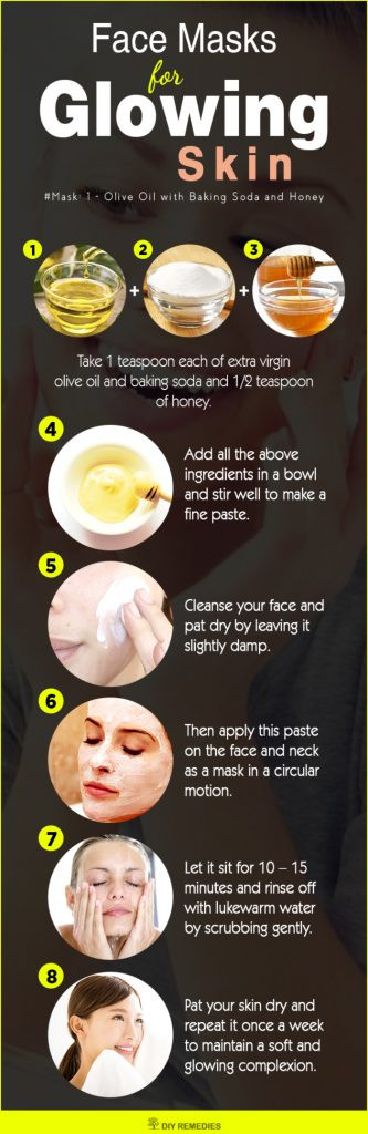 Best ideas about DIY Facial Mask For Glowing Skin . Save or Pin 10 Best Face Masks for Glowing Skin Now.