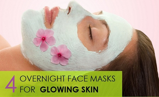 Best ideas about DIY Facial Mask For Glowing Skin . Save or Pin 4 Overnight face masks for glowing skin Now.