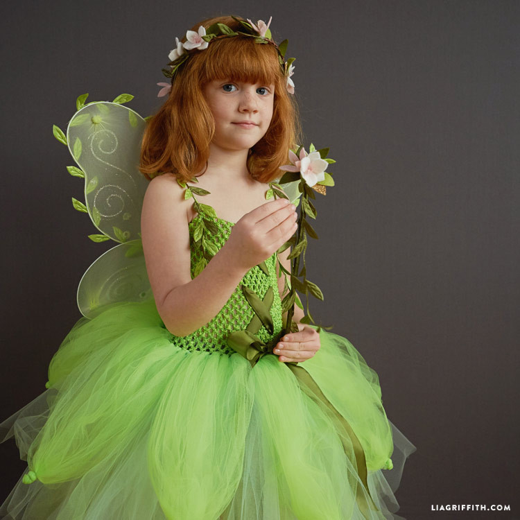 Best ideas about DIY Fairy Costume For Kids . Save or Pin Kid s DIY Fairy Costume Lia Griffith Now.