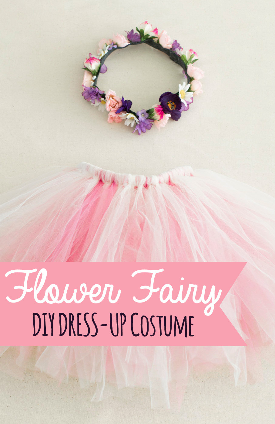 Best ideas about DIY Fairy Costume For Kids . Save or Pin The Nonpareil Home DIY Costume Flower Fairy Now.