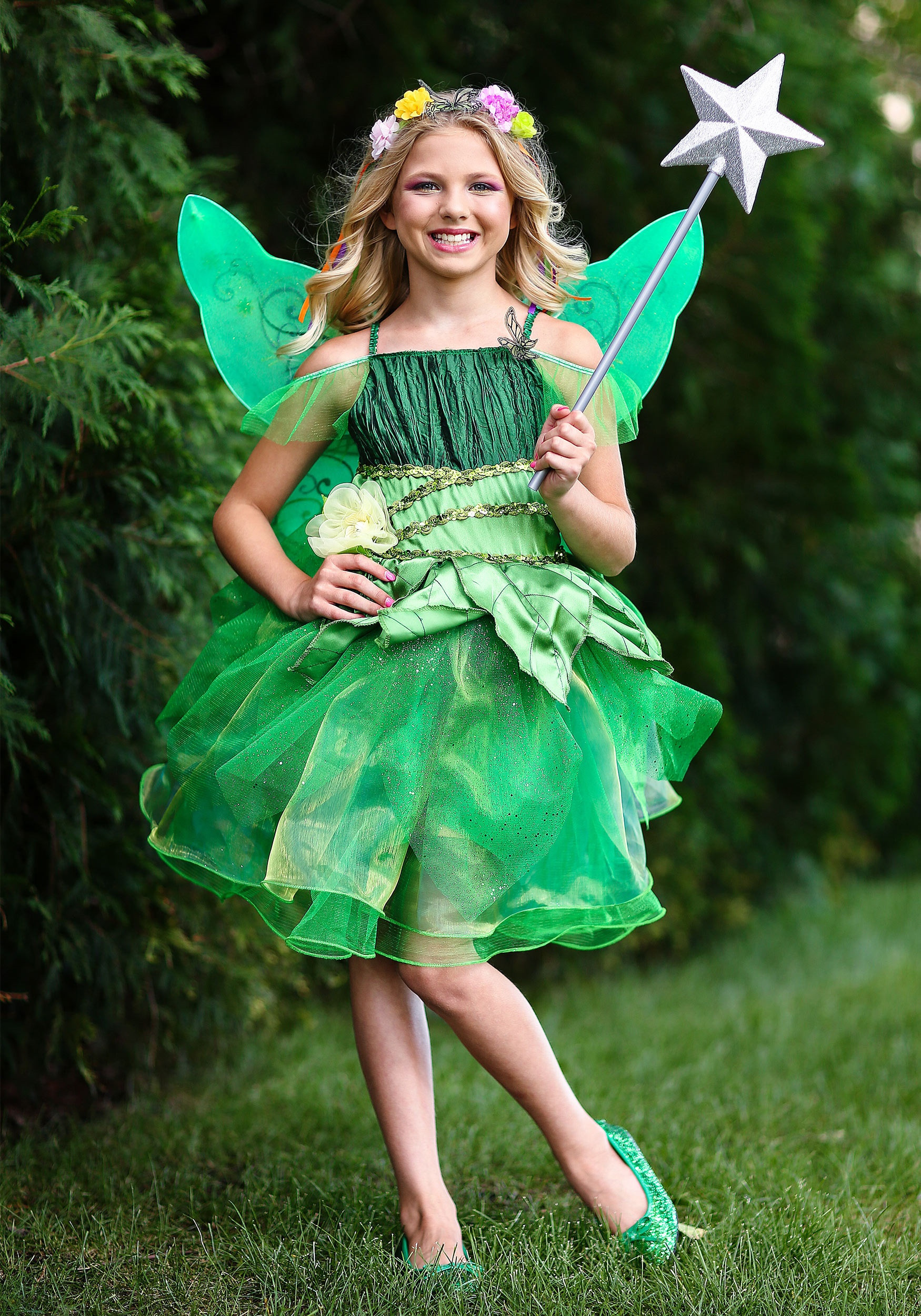 Best ideas about DIY Fairy Costume For Kids . Save or Pin Garden Fairy Costume for Girls Now.