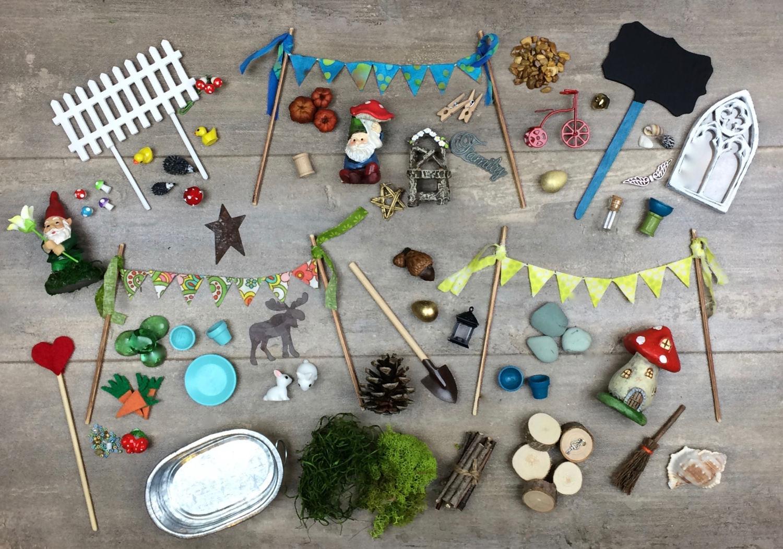 Best ideas about DIY Fairy Garden Accessories . Save or Pin DIY Fairy Garden Accessories Grab Bag Kids craft Fairy Now.
