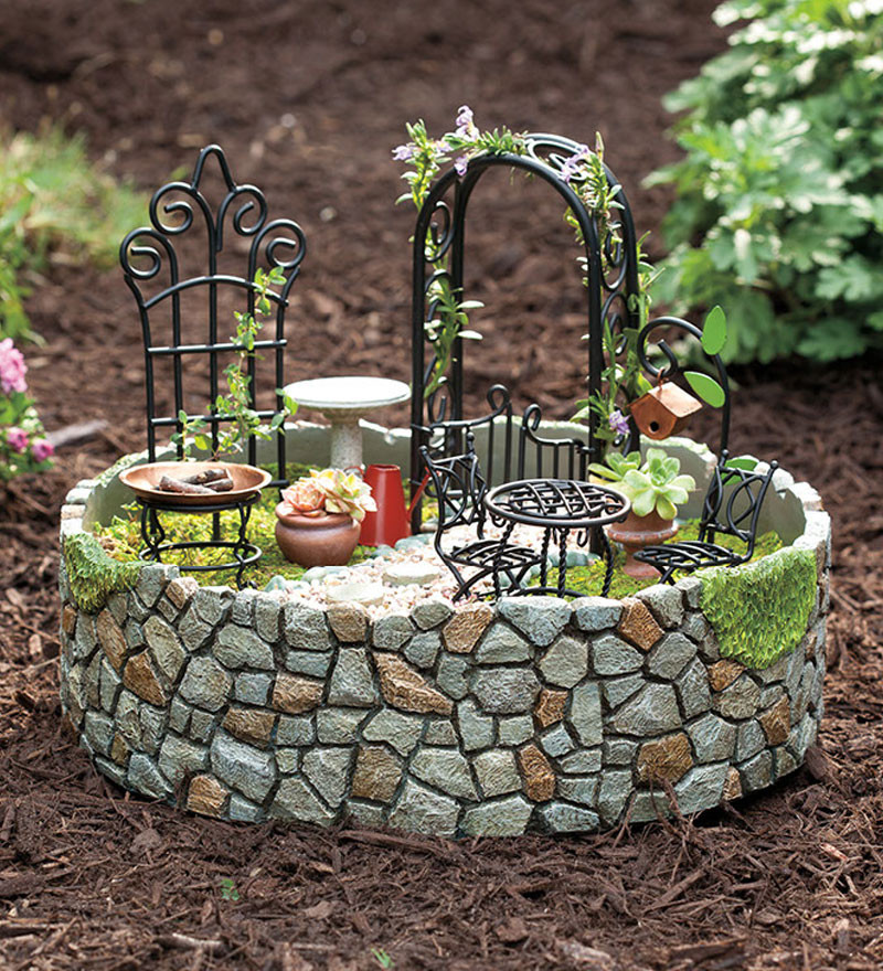 Best ideas about DIY Fairy Garden Accessories . Save or Pin 11 Beautiful DIY Fairy Gardens Now.