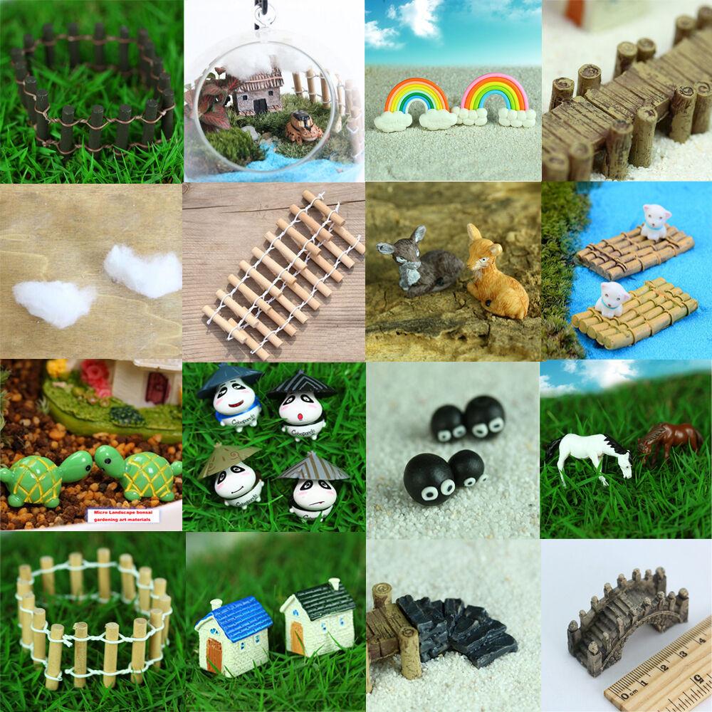 Best ideas about DIY Fairy Garden Accessories . Save or Pin LATEST Miniature Fairy Garden Ornament Decor Pot DIY Craft Now.