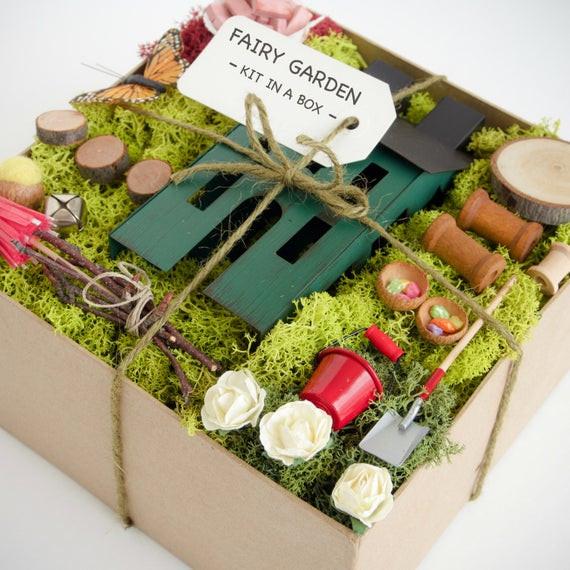 Best ideas about DIY Fairy Garden Accessories . Save or Pin Fairy Garden Kit Fairy Garden Accessories Fairy Garden Now.