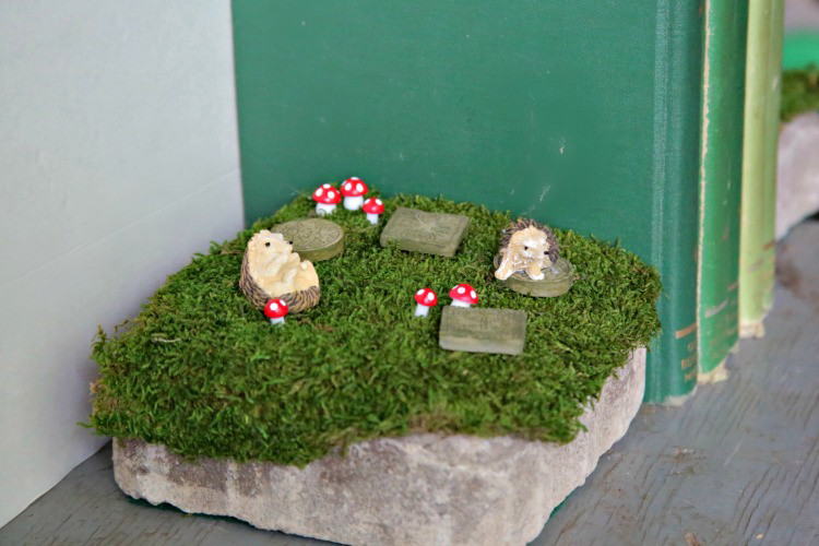 Best ideas about DIY Fairy Garden Accessories . Save or Pin DIY Fairy Garden Decor Bookends Darice Now.