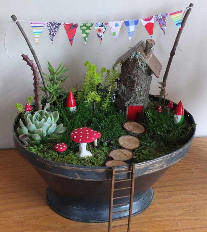 Best ideas about Diy Fairy Garden Ideas . Save or Pin Magical Fairy Garden Ideas You & Your Kids Will Love Now.