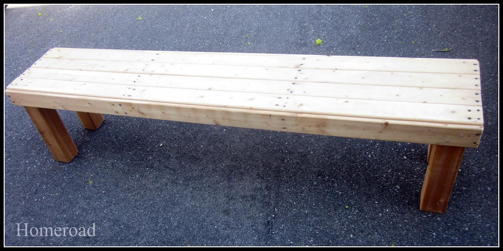 Best ideas about DIY Farmhouse Bench . Save or Pin DIY Farmhouse Bench Now.