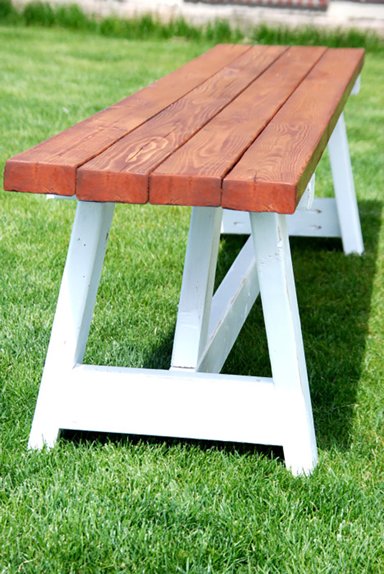 Best ideas about DIY Farmhouse Bench . Save or Pin DIY Project Farmhouse Bench The Home Depot Now.