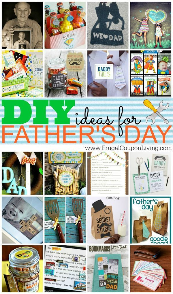 Best ideas about DIY Father'S Day Gifts From Kids . Save or Pin DIY Fathers Day Gift Ideas with FREE Printables for Him Now.