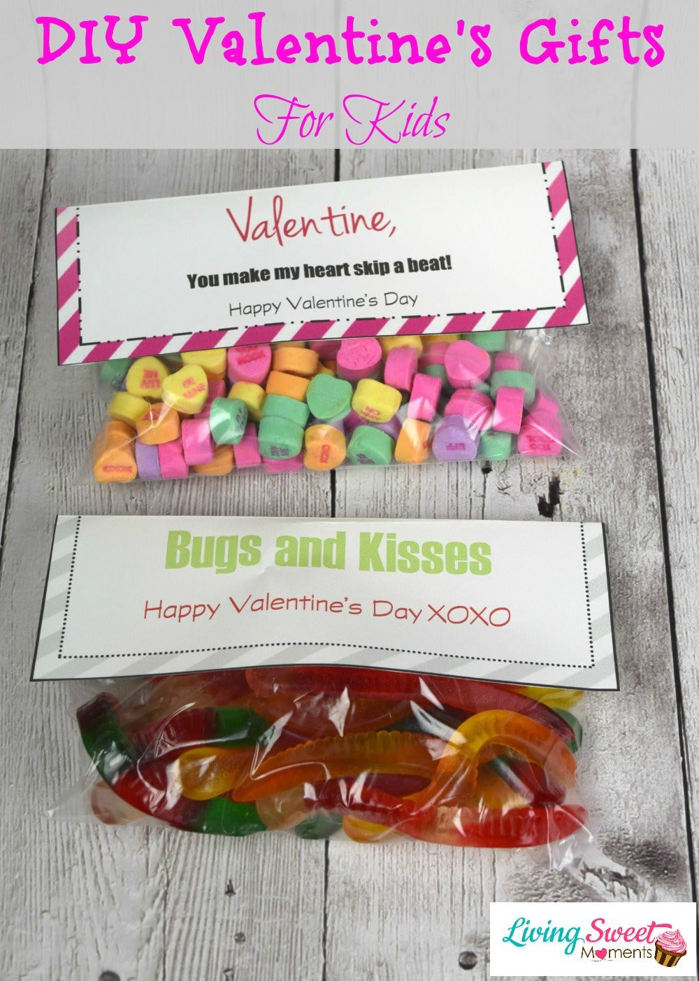 Best ideas about DIY Father'S Day Gifts From Kids . Save or Pin DIY Valentine s Gift For Kids Now.